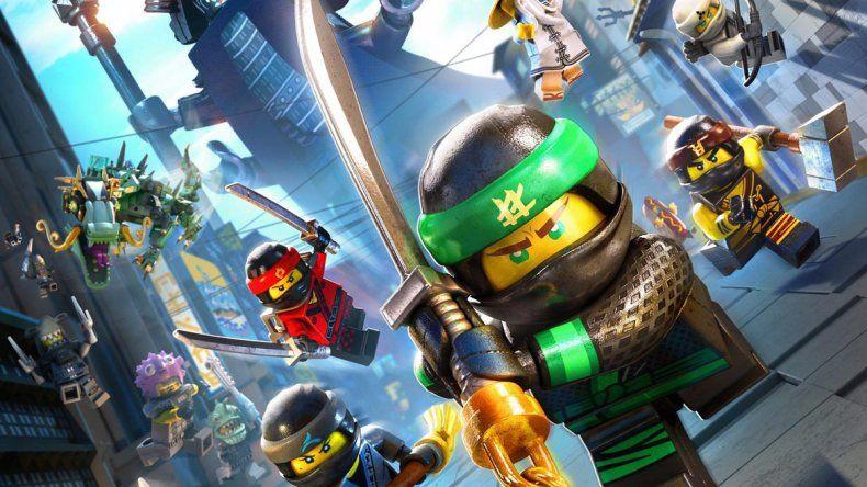 Mañana en el Cine Teatro Español se estrena Lego Ninjago: la película.