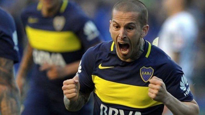 Darío Benedetto es el goleador de Boca Juniors.