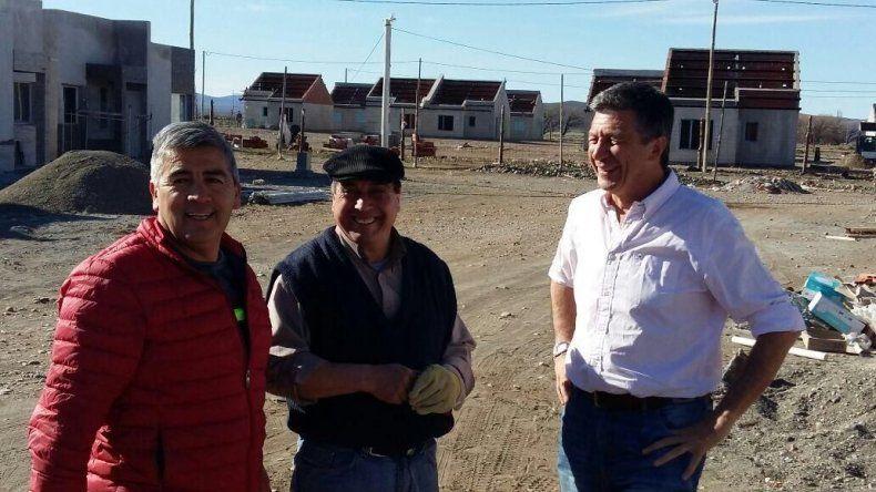 Menna recorrió Río Pico y Gobernador Costa