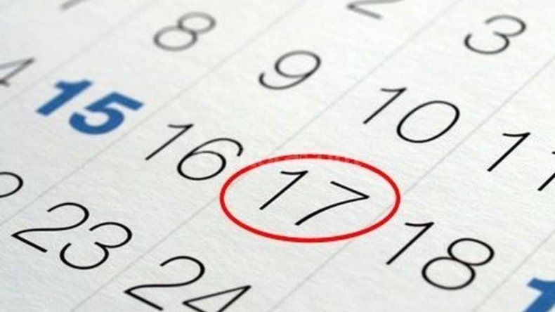 ¿Cuáles son los feriados puente que podría haber en 2018?
