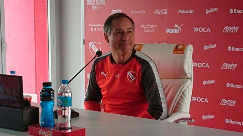 Ariel Holan aseguró que ahora el gran objetivo de Independiente será conquistar la Copa Sudamericana.