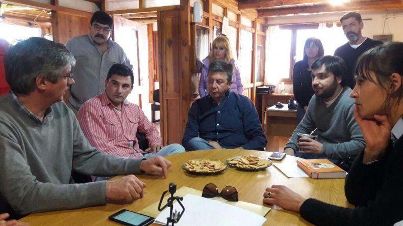 Corcovado y Carrenleufú fueron las localidades que recorrió ayer el candidato de Cambiemos.