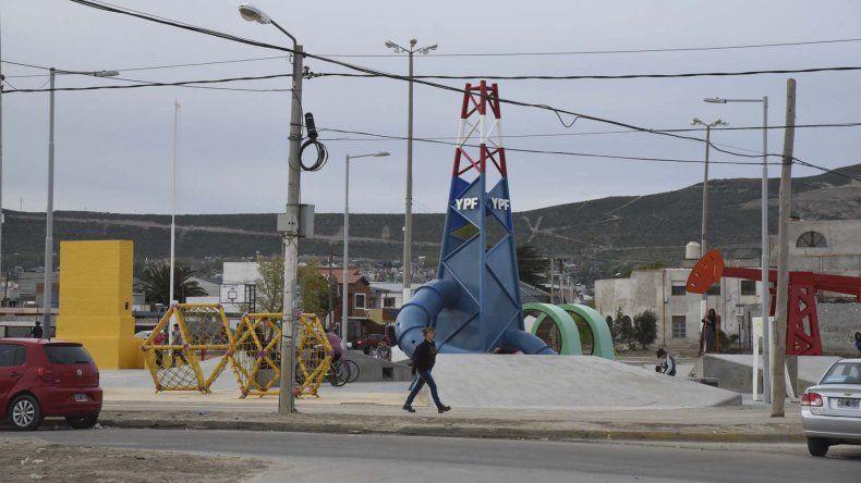 La Plaza 1° de Mayo fue reparada en forma integral