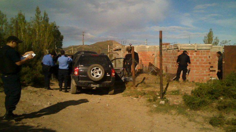 La policía recuperó la camioneta ayer por la tarde en un allanamiento.