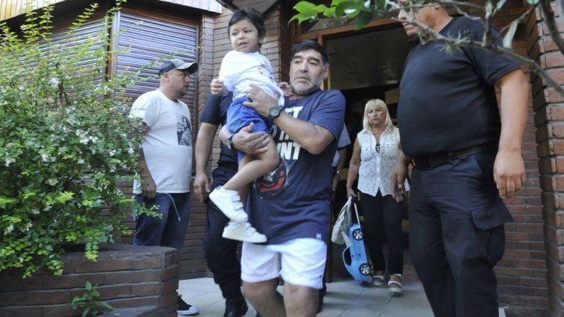 Internaron a Dieguito Fernando, el hijo de Maradona, en Estados Unidos