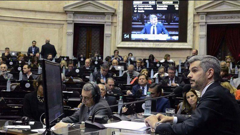 Será la cuarta vez en este año que Marcos Peña concurra a la Cámara de Diputados.