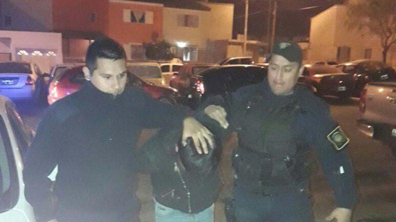 La policía detuvo en la noche del sábado a Walter Poza.