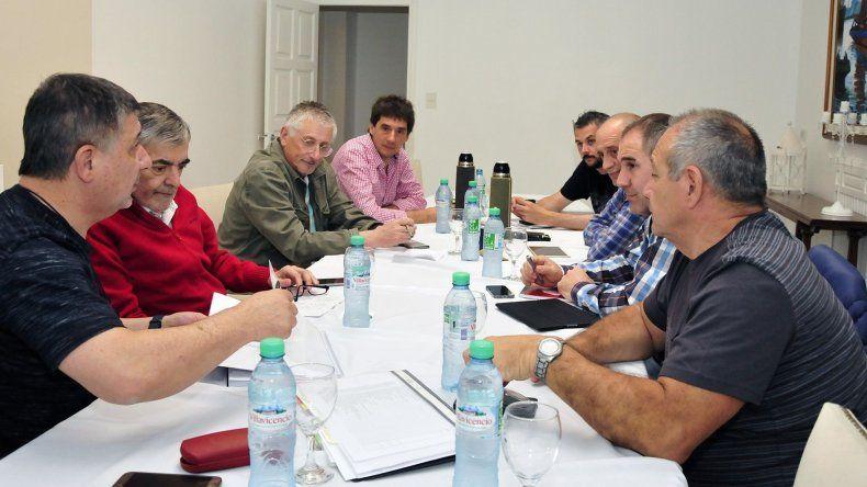 Das Neves se reunió ayer por la tarde con una parte de su gabinete