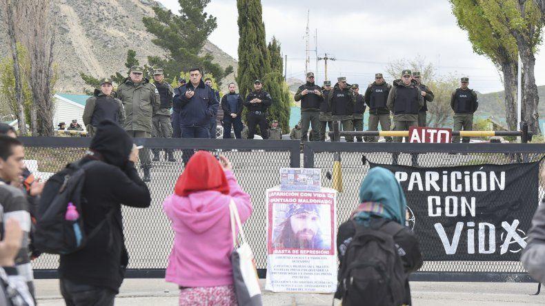 Los universitarios volvieron a elegir  Gendarmería para exponer su reclamo