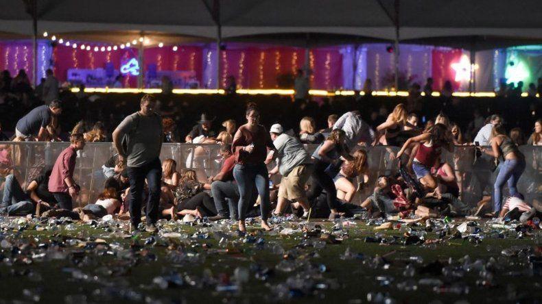 Así fue el momento del ataque en Las Vegas