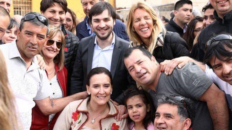 Michetti participó de entrega de viviendas en Puerto Madryn