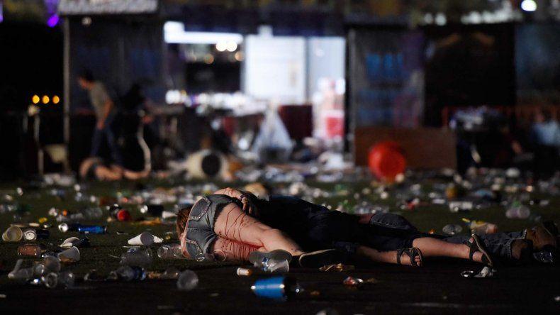 El ataque en Las Vegas dejó un saldo de 58 muertos y 515 heridos.
