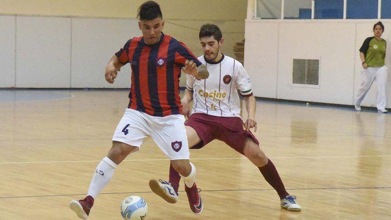 Casino Club Futsal le ganó 4-3 a San Lorenzo en uno de los partidos que se jugaron por la primera fecha de la División de Honor