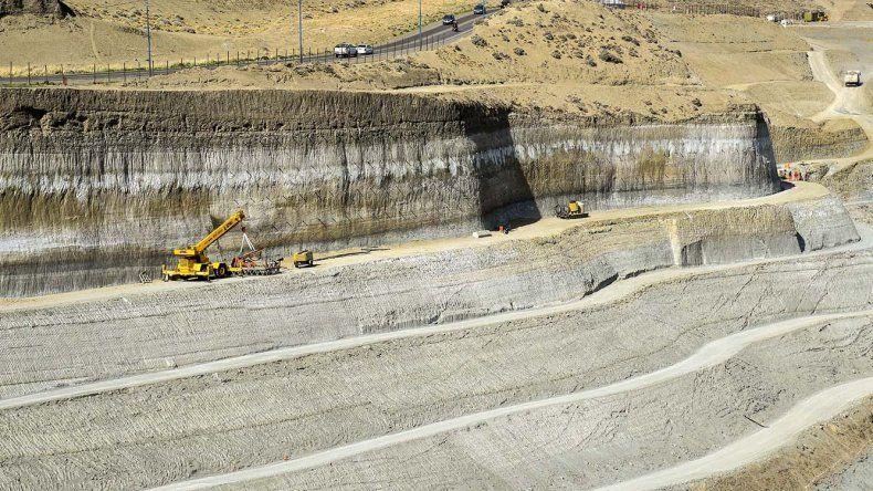 La segunda etapa del aterrazamiento del Chenque no tiene presupuesto asignado. Será una de las obras que reclamará Provincia.
