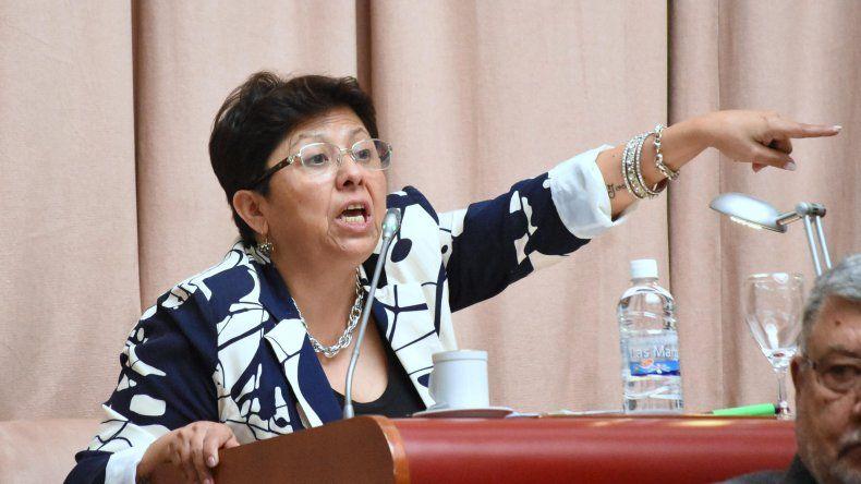 Navarro pronunció su rechazo al Acueducto Los Monos