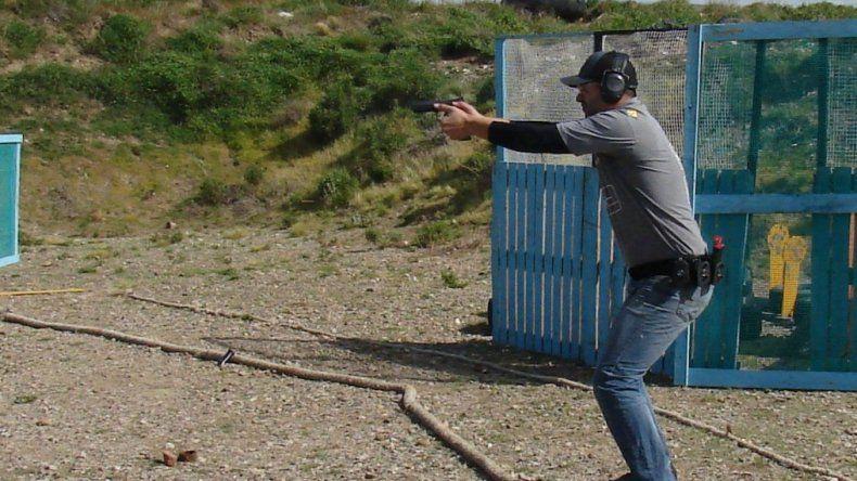 Fernando Lago se volvió a destacar en el ránking de la división Producción del tiro práctico.