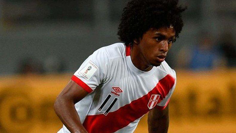 Yordy Reyna fue convocado de urgencia por el DT argentino Ricardo Gareca para que se sume a la selección peruana.