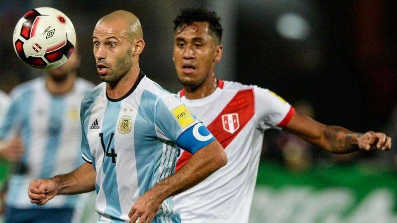 ¿A qué hora y por dónde se transmite el partido de Argentina-Perú?