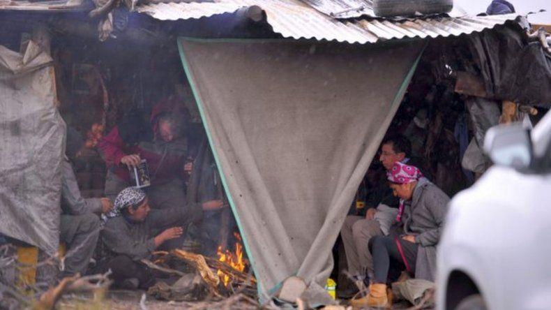 Lleral se entrevistó con la comunidad mapuche de Cushamen
