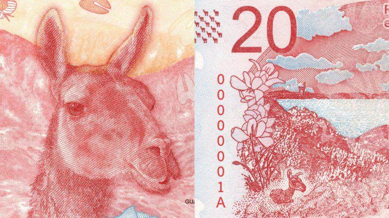 ¿Cómo reconocer un billete nuevo de $20 falso?