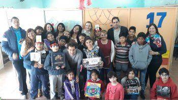 El Concejo Deliberante efectuó ayer una donación de juegos didácticos para el CPB del barrio 30 de Octubre.