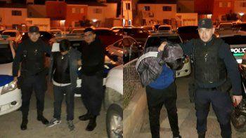 Detuvieron a dos jóvenes con pedido de captura