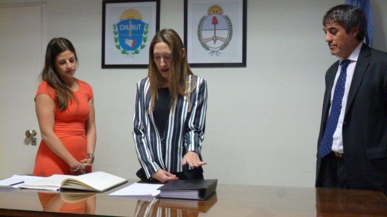 Juró Mariela Stange como funcionaria de fiscalía