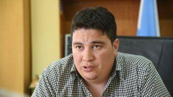 Rubén Crespo, secretario adjunto de la UOCRA que aceptó una condena en juicio abreviado. Lo querían llevar a juicio por la tenencia de dos armas.