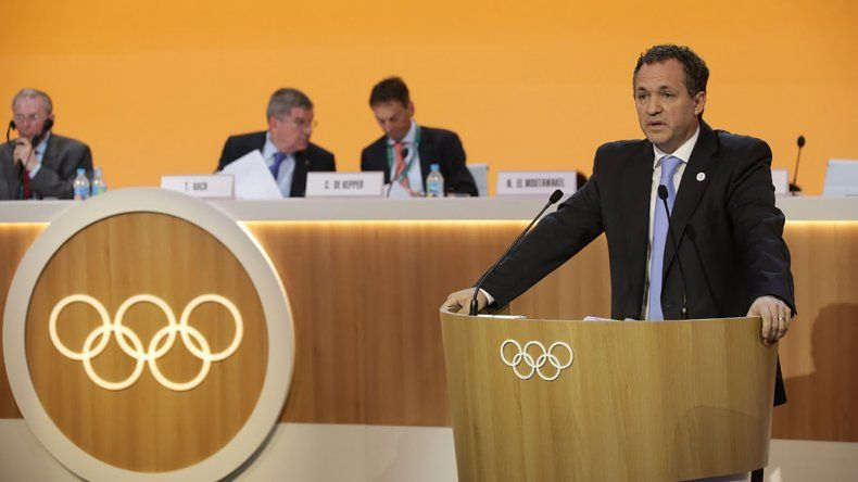 Leandro Larrosa es el director general del Comité Organizador de los Juegos Olímpicos de la Juventud que se celebrarán el próximo año en Buenos Aires.