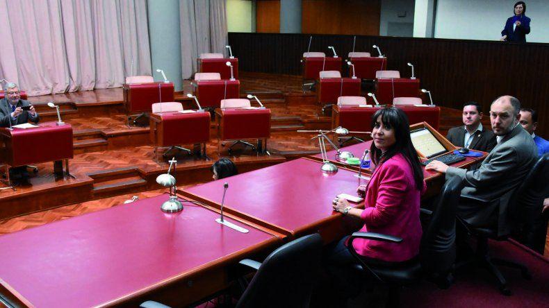Cecilia Torres Otarola iba a presidir la frustada sesión de ayer.