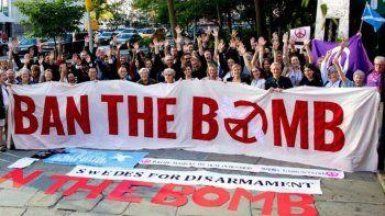 Nobel de la Paz para una campaña anti armas nucleares