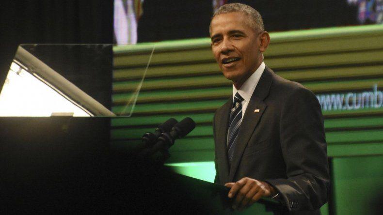 Obama elogió el gobierno de Macri