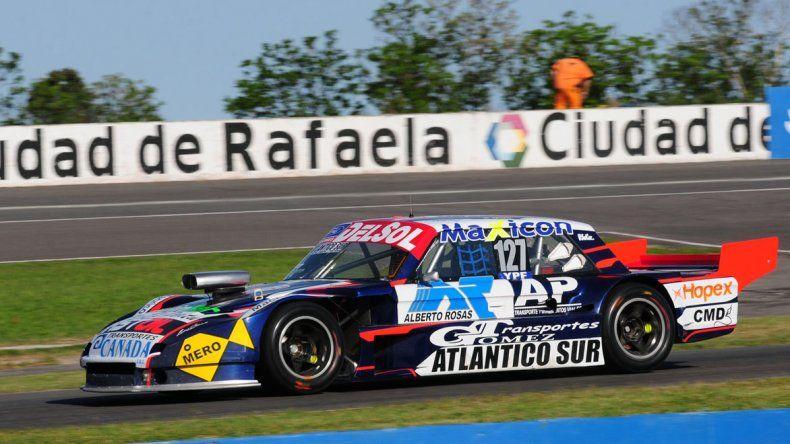 Marcelo Agrelo se ubicó séptimo en la primera clasificación del TC Pista ayer en el autódromo de Rafaela.