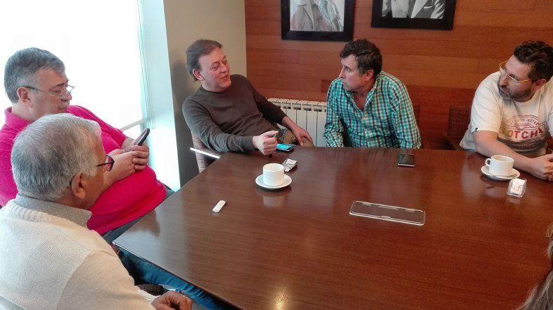La reunión que fueyo mantuvo con González