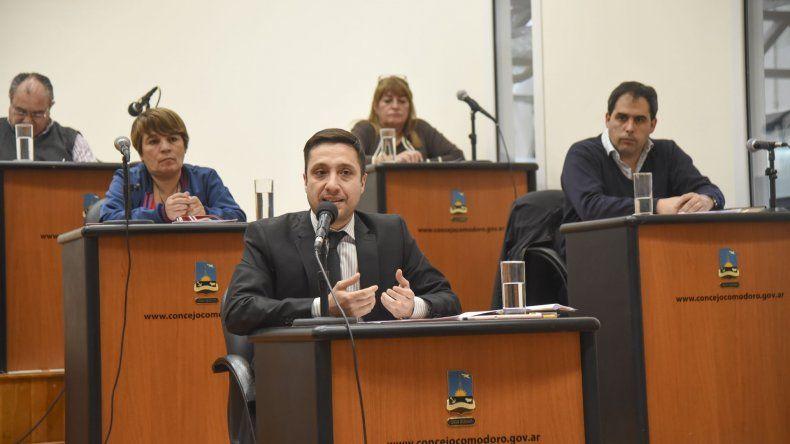 En la sesión que se desarrolló en la tarde del jueves se establecieron modificaciones a la emergencia económica.