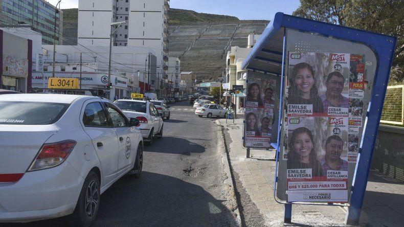 Comodoro Rivadavia ya lleva dos días sin servicio de transporte público.