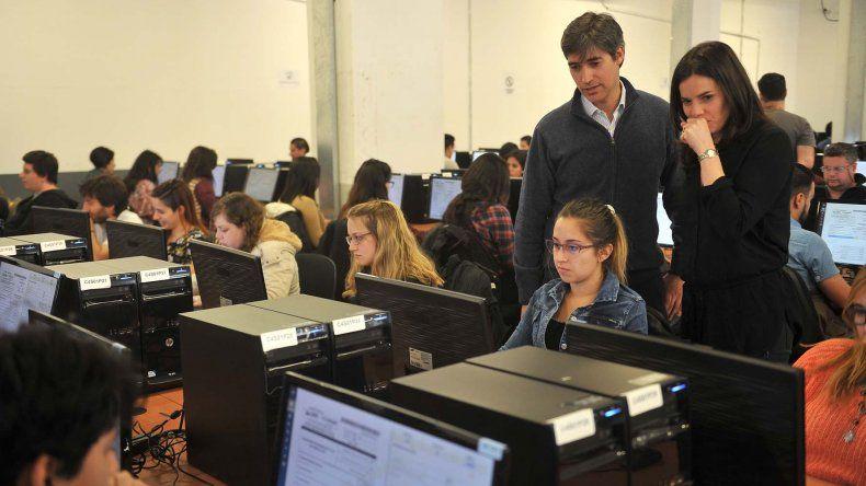 De cara al 22 de octubre desarrollaron un simulacro del Ministerio del interior escrutinio
