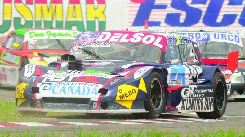 El Ford de Marcelo Agrelo que hoy estará corriendo la segunda fecha de la Copa de Plata del TC Pista.