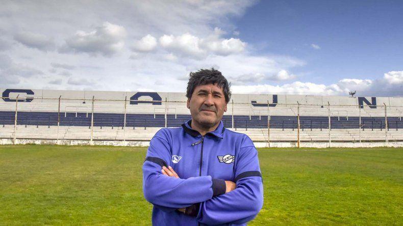 Osvaldo Santana en su segunda casa