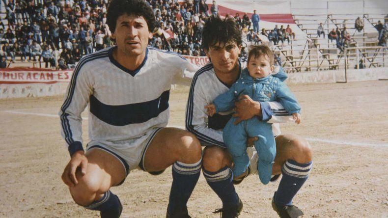 Osvaldo y el Pampa Acosta