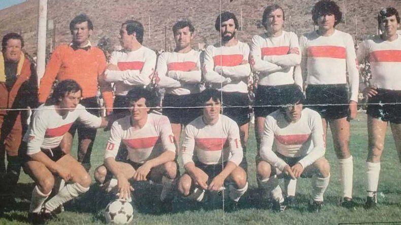 Santana con la selección de Comodoro Rivadavia.