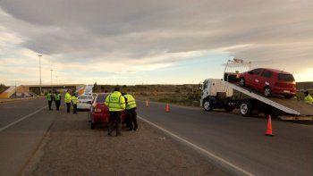 Secuestran vehículo por alcoholemia con más del doble del permitido