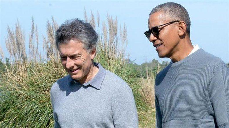 Macri y Obama se relajaron jugando al golf
