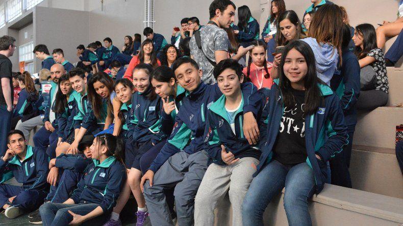 Los chicos de Chubut viajaron a Mar del Plata con la ilusión de hacer un gran papel.