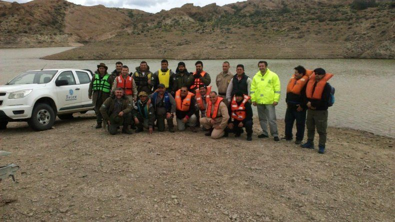 Inspectores de recursos naturales se capacitaron en seguridad y timonel