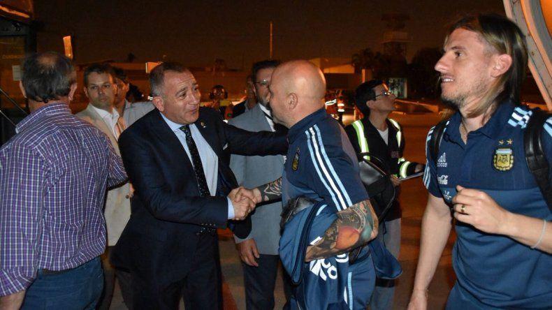 La Selección argentina ya está en Ecuador