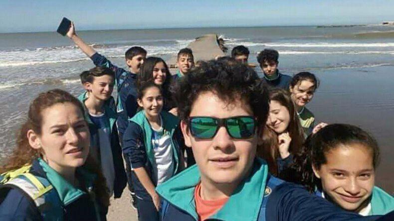 Los chicos chubutenses comenzaron ayer a participar de la instancia Nacional de los Juegos Evita que se celebrarán hasta el sábado en Mar del Plata.