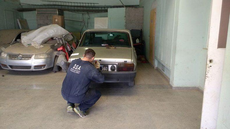 Recuperaron un auto con pedido de secuestro de Mendoza