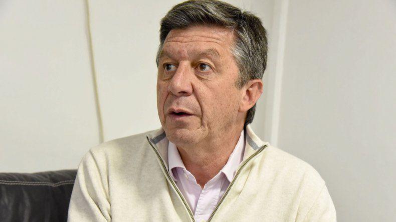 Gustavo Menna se tiene fe. Fue el segundo más votado en las PASO y confía en ampliar su caudal de votos.