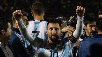 messi: mereciamos haber ganado las tres finales y merecemos ir al mundial